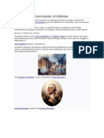 Political and Socioeconomic Revolutions