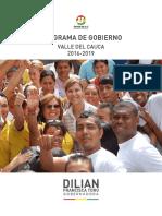 Programa de Gobierno Dra. Dilian Francisca Toro