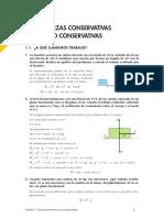 Fisica Fuerzas Conservativas y No Conservativas