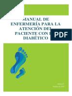 Manual de Enfermería Para La Atención Del Paciente Con Pie Diabético de Muñoz. 2015.