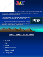 Power Point of Zakat