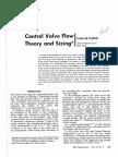 Control Valve Flow Theory-DeFillippis-1974
