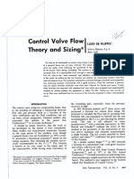 Control Valve Flow Theory-DeFillippis-1974