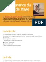 La Soutenance Du Rapport de Stage