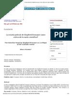 La novela policial de Siegfried Kracauer como crítica de la razón científica