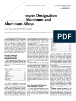 Alloy and Temper Designation