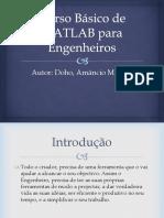 Curso de Matlab Para Engenheiros