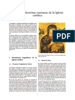 Dogmas y Doctrinas Marianas de La Iglesia Católica
