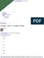 A GraphQL Tutorial