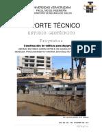PROPUESTA DE MECÁNICA DE SUELOS PARA CONSTRUCCIÓN DE EDIFICIO PARA DEPARTAMENTOS EN VERACRUZ, VER.