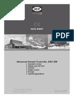 AGC 200 Data Sheet 4921240362 UK