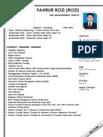 Fahrurrozi CV