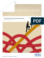 accounting standards Year End Update