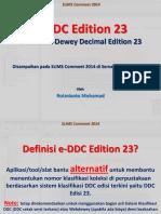 E-DDC Edition 23 & SLiMS