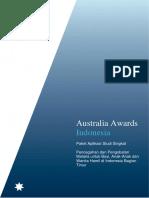 Information Pack Australia Awards - Malaria Cohort III