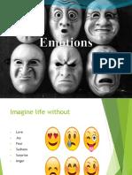 Week 8 Emotions