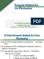 Presentation on Calculation of Price Escalation