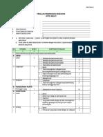 Checklist TTU