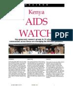 Kenya AIDS Watch