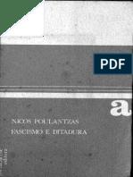 Nicos Poulantzas - Fascismo e Ditadura - A III Internacional Face Ao Fascismo - Vol. I