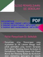 POLISI PENYELIAAN