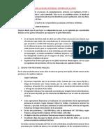 Analisis de La Deuda Externa e Interna en El Perú