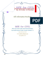 Gate civil booklet