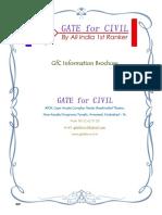 Gate civil booklet