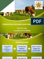 Fermentasi Sekunder Dan Pencegahannya