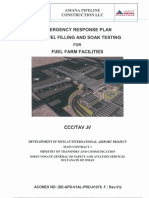 Emergency Response Plan for Fuel Filling Soak Testing - REVISED