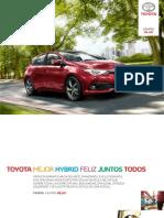Catalogo Toyota Auris