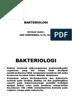 Bab Vii Bakteriologi