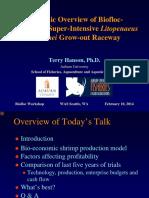 Hanson Econ Overview of Bio-floc Shrimp Recirc WAS 2014 Ver 2 Ppt