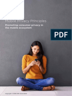 GSMA Privacy Principles