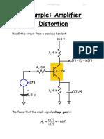 Example Amplifier Distortion
