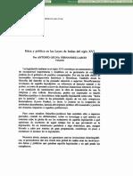 Dialnet-EticaYPoliticaEnLasLeyesDeIndiasDelSigloXVI-142207