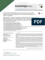 Artritis Reumatoide Consenso 2015