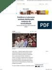 Católicos e Luteranos Assinam Declaração Conjunta de Reconciliação