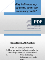 Macro Economics PPT - Group 9