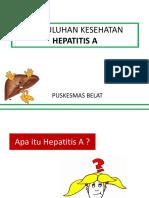 Penyuluhan Hepatitis A