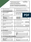 Cuestionario en Papel para pacientes  Hipertensos