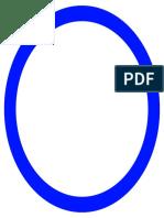 Blue Circle Stamp