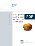 Background Paper Ont the Economic of Food Loss