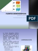 Fuentes Demograficas