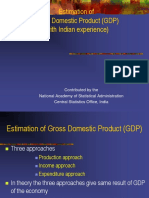 02.Estimation of GDP With Indian Experience