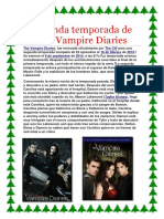 SEGUNDA Temporada de the Vampire Diaries