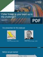 Cyber Threat August 2017webcastv3