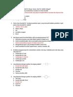 Soal PLC PilGan dan jawabannya