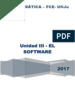 2017 Unidad III ElSoftware