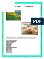 A HISTÓRIA DA REPÚBLICA BRASILEIRA - 5º ANO